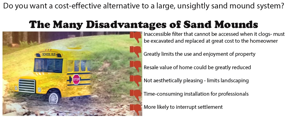 sand mound septic